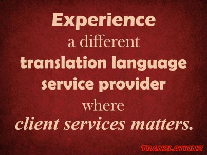 Experience Translationz